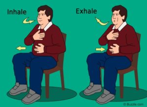 diaphragmatic breathing exercise